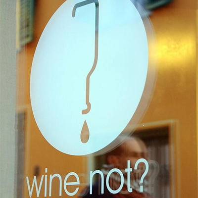 Opening of wine not?